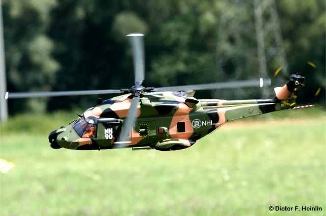 Graupner NH-90 mit Turbine 4 Blatt Haupt- und Heckrotor vorgeflogen von Wolfgang Simon